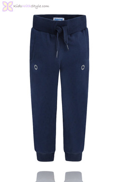 Boys Classic Jogger Pants in Navy