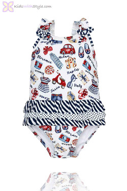Baby Girl Riviera Bathing Suit