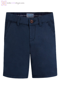 Young Boy Chino Shorts in Navy