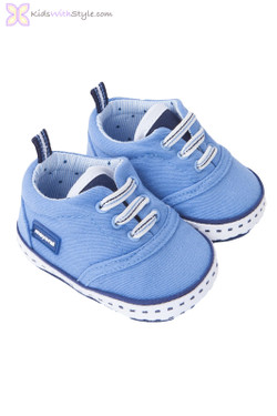 Baby Boy Canvas Shoes in Blue