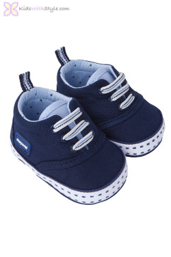 Baby Boy Canvas Shoes in Navy
