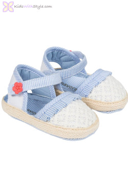 Baby Girl Espadrille in Blue