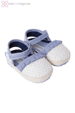 Baby Girl Espadrille in Navy