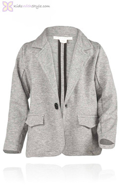 Grey Knit Jacket