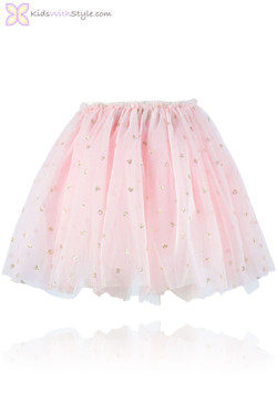 Pink Sweetheart Tulle Skirt