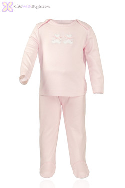 Pink Bear Pajama Set