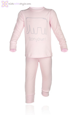 Pink Infant Bon Jour Set