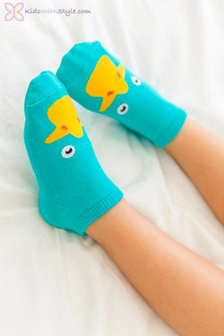 Green Ducky Socks