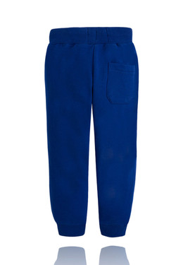 Boys Blue Sweatpants with Drawstring