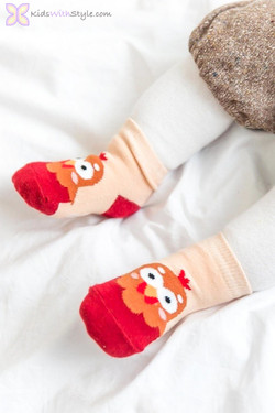 Children's Chicken Socks