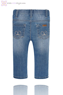 Baby Girl Classic Blue Jeans