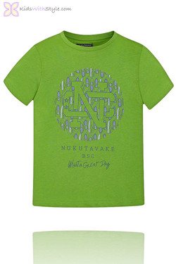 Boys Graphic Green T-Shirt