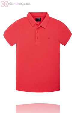 Boys Classic Red Polo