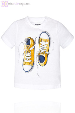 Baby Boy Graphic Sneakers T-Shirt