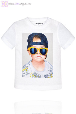Baby Boy Graphic Cool Dude T-Shirt