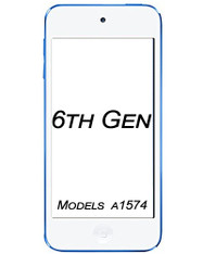 iPod touch 6th Generation glass/LCD repair service