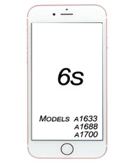 iPhone 6s Broken Glass/ Digitizer Replacement service.