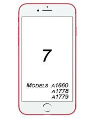 iPhone 7 Broken Glass/ Digitizer Replacement service.