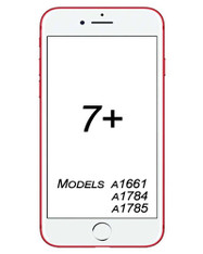 iPhone 7 Plus Broken Glass/ Digitizer Replacement service.