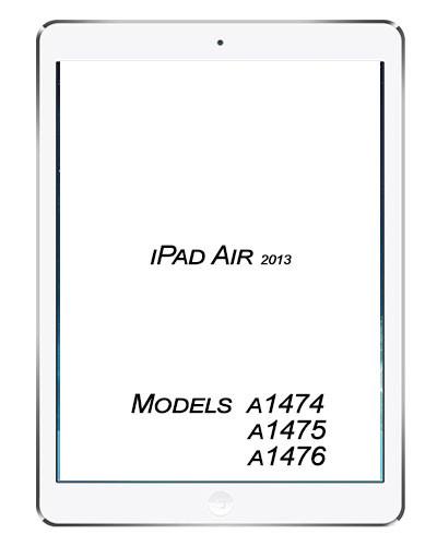 Apple iPad Air Broken Glass/digitizer service.