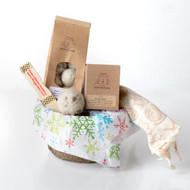 Holiday gift basket for cats.  Organic catnip, 100% natural cat toys.   Made in USA.  Purrfectplay.com
