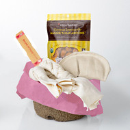 Valentine's Day Gift Basket for Dogs.  For Medium Dogs.  Made in the USA.  Purrfectplay.com