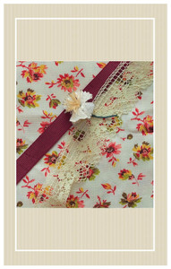 Lovely 1940's floral cotton project set