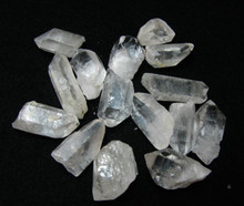 Purchase this listing and your order will contain 5 to 7 Quartz points, approximately 4 ounces.