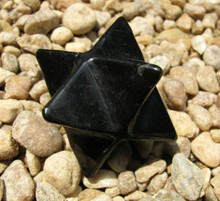 SHUNGITE MERKABA ~ EMF PROTECTION ~ GROUNDING ~ STRESS RELIEF