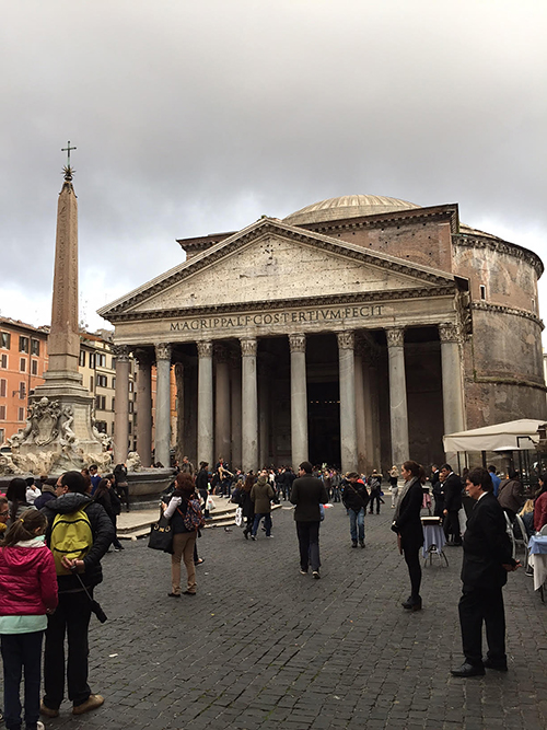 The Pantheon, Rome, Italy—Happy Easter from The Flower Lady, Milwaukee Florist!