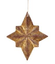 Gilded 8-Point Star Ornaments