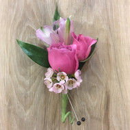Pink Collection Boutonniere