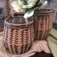 Contemporary Woven Basket