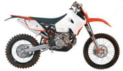 KTM 4.0gal Safari Trail Tank (Up to 2007)