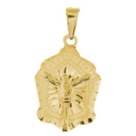 First Communion Gold Pendant - 14 K. 1.7 gr. - PCC007