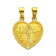 Yellow Gold Pendant - 14 K - PT410