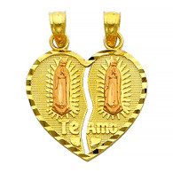 Yellow Gold Pendant - 14 K - PT401