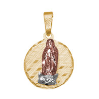 Yellow / White / Red Gold Medal - Virgin Mary - 1.2 gr - V120