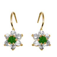 Forever 15 - Gold Earrings with CZ - 14 K - 580701G