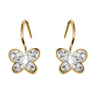 Forever 15 - Gold Earrings with CZ - 14 K - 808901