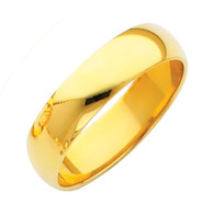 Yellow Gold Wedding Band (5mm - 4.4Gr.) - BR050