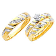 Yellow / White Gold Trio Set - TDR06