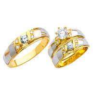 Yellow / White Gold Trio Set - TC153