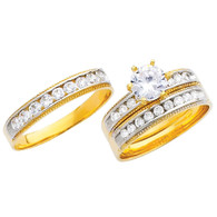 Yellow Gold Trio Set - 14 K - TC227
