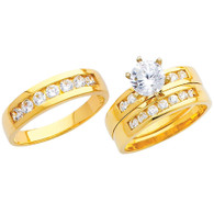 Yellow Gold Trio Set - 14 K - TC217