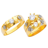 Yellow / White Gold Trio Set - TC215