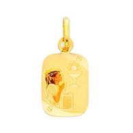 First Communion Gold Pendant - 14 K.  1.1 gr. - PT212