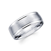 White gold wedding band - BC2-11