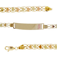 Forever 15 - Yellow /  Red Gold Bracelet - 7.5 gr - XVP-301