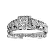 Engagement Ring / Wedding Band 14K  - ERB-501